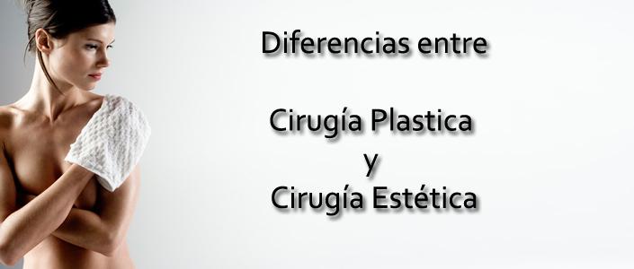 Diferencias Plastica Estetica