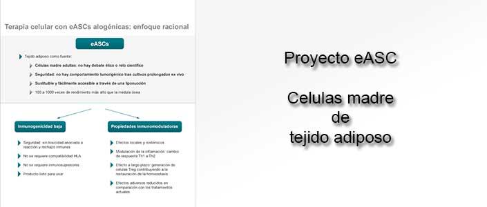Proyecto eASC de células madre