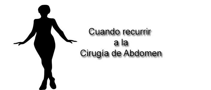 Cirugía de abdomen