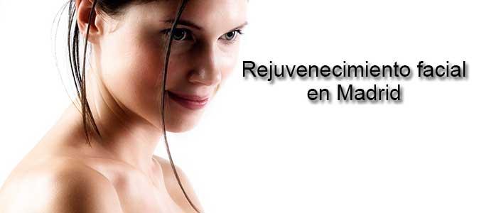 Rejuvenecimiento facial en Madrid