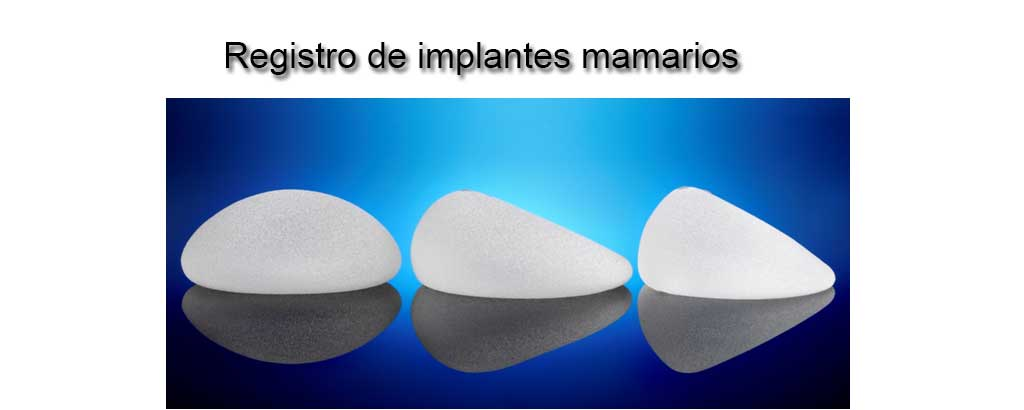 Registro de implantes mamarios