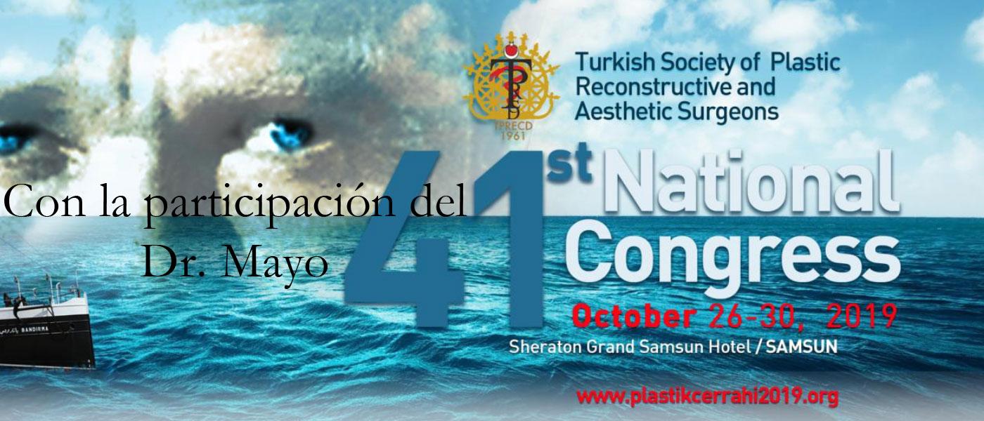 41 Congreso de Cirugía Plástica y Reconstructiva en Turquía